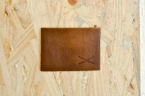 Card holder - Vintage Brown (1)