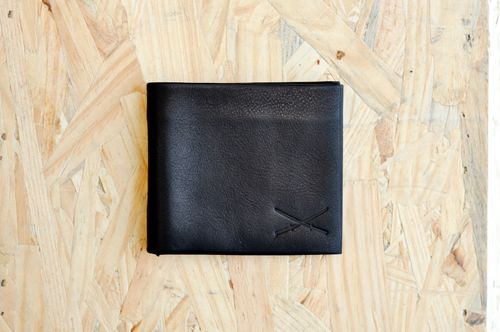 Wallet - leather  Vintage Black (1)