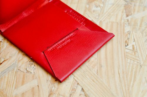 Wallet - Imperial Red  (4)